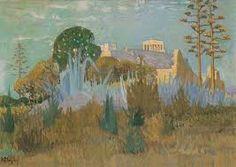 'View of Acropolis' by Constantine Maleas Turkey) Greece Painting, Street Art, Athens Acropolis, Art Database, New Art, Art Projects, Past, Greek, Landscape