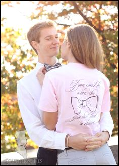 """I want this shirt... """"If you can't tie a bowtie, you don't stand a chance"""""""