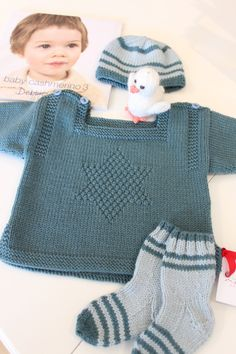 Baby Cashmerino - beautifully knit by Sara Barbeau and Ghislaine Roberge  http://www.debbieblissonline.com/Book.asp?bid=40