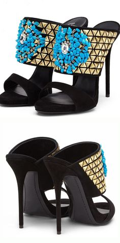 Material:Leather Heel Height:12cm Embellishment:Beads