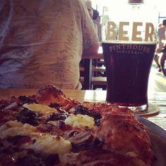 Pinthouse Pizza on Burnet Road Austin, Texas is also a brewpub!