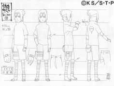 They posted Sasuke at different stages - as a christmas present :) The same for Naruto on his birthday. Naruto Sketch, Naruto Drawings, Naruto Art, Anime Naruto, Sasuke Uchiha, Hinata, Art Vampire, Character Turnaround, Naruto Oc Characters