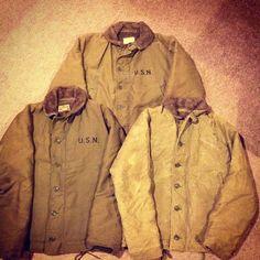 1940'S N-1 Deck Jacket Size 36,38,40 #Padgram