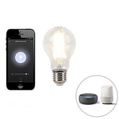 Das perfekte Leuchtmittel für dein #smarthome. Teste es jetzt! App Store, Wifi, Led Lampe, Light Bulb, Apps, Van, Lighting, Decor, Products