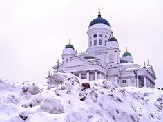 Helsinki Senate Square, Finland (by phototouring)