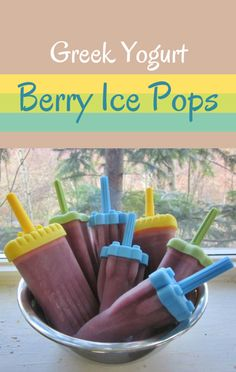 Marisa Churchill prepared a fun batch of her Greek Yogurt Berry Ice Pops on The Talk. This layered, healthy dessert is a hit with kids and parents. http://www.foodus.com/the-talk-marisa-churchill-greek-yogurt-berry-ice-pops-recipe/