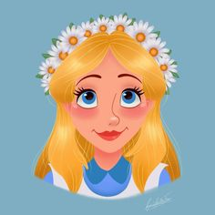 Disney Flower Power : Alice