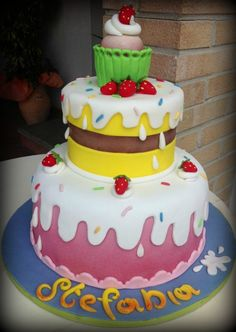 torta Candy per Stefania