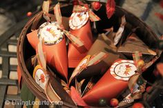 Fall Party Favors and fall party ideas, decorating etc.