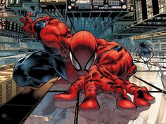 Is there somebody who doesn't knows Spiderman ? Now I want to say you some interesting things about him. Spiderman was created by Marvel Comics. Comic Book Artists, Comic Book Characters, Marvel Characters, Comic Character, Comic Books Art, Comic Art, Marvel Comics, Marvel 3, Marvel Heroes