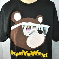 b2a9bc37f4b96e Details about Kanye West Takashi Murakami 2008 Concert XXXL T-Shirt 3XL  Mens Bear Yeezy NOS