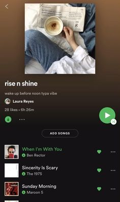good morning; when you wake up before noon #spotify #indie #playlists #music Good Morning Video Songs, Morning Music, Songs With Good Beats, Most Relaxing Song, Playlist Names Ideas, Soul Songs, Music Recommendations, Song Suggestions, Good Vibe Songs