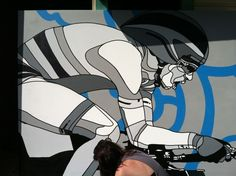 DAVID FLORES x OAKLEY London Olympics 2012 Mural