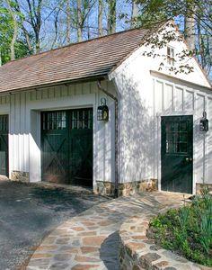 Garage by Peter Zimmerman; full img: http://www.ectbuilders.com/custom_homes/xl/chester_springs_ext7.jpg