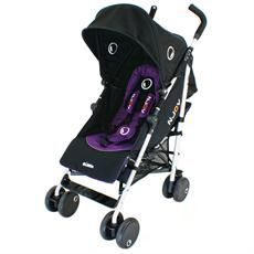 In Purple and Black - A reversible buggy that in the blink of an eye switches between world facing and parent facing modes. £199.98