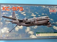 Air Force KC-97 Boeing Tanker/Transport 1/144 Scale Model Airplane Kit by Minicraft by mancavestuff on Etsy