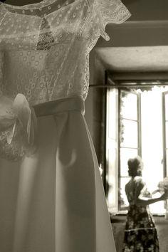 El traje y la novia