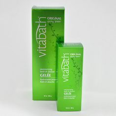 VitaBath Original Gelee - Infused with a refreshingly bold blend of patchouli and pine, this highly concentrated gelee gently cleanses with a luxurious lather that leaves the skin feeling soft and supple. Fortified with an abundance of vitamins and natural botanical extracts, its nutrient-rich formula also helps soothe and condition skin. With twice the essential ingredients and half as much water as competitors, the performance of Vitabath gelee cannot be matched.