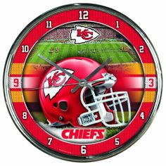 Always be on time for the game with this WinCraft chrome clock! Decorated with San Francisco and sport graphics, this is a great time piece to add to your fan cave or office. What time is it? It's time for another San Francisco victory. Chrome Wall Clock, Wall Clocks, 49ers Fans, Nfl 49ers, Nfl Arizona Cardinals, Cardinals Football, Nfl Kansas City Chiefs, Nfl Football Teams, Football Decor