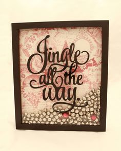"""Jingle+All+the+Way""+graphic+design Vinyl+Sticker,+Wall+Art,+Christmas,+Home+Decor,+ wall+decal:+approximately+8""w+x+10""h+(20cm+x+25cm)  This+order+is+for+one+(1)+vinyl+wall+decal+only.+PLEASE+MESSAGE+US+for+BULK+PRICING+OPTIONS+for+Craft+Day+Events,+etc.  Please+leave+your+color+choice+in+..."