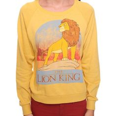 Lion King French Terry Top - Forever 21 - Polyvore