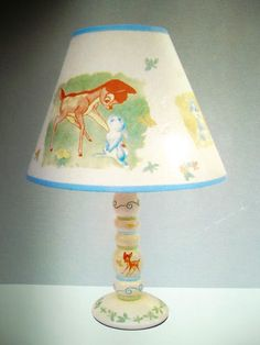 bambi and thumper. so perfect for little haven my little thumper Disney Baby Nurseries, Disney Nursery, Baby Disney, Bambi Nursery, Girl Nursery, Nursery Pictures, Nursery Ideas, Disney Themed Bedrooms, Disney Lamp