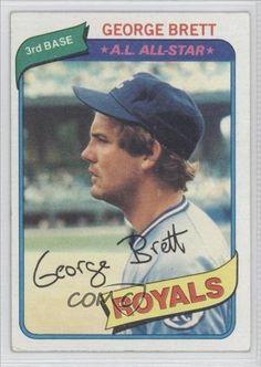 George Brett Kansas City Royals (Baseball Card) 1980 Topps #450 by Topps. $2.49. 1980 Topps #450 - George Brett