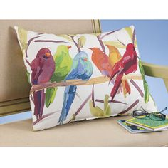 Flocked Together Reversible Pillow - Stylish Home Accents and Décor - Graceful Clothing, Accessories & Jewelry