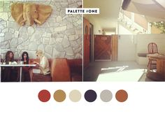 Palm Springs palette