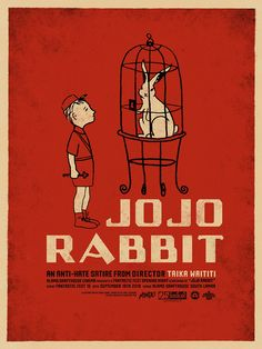 The Oscar-winning film JoJo Rabbit illustrates the effect of deceptive totalitarianism on youth. Animal Farm also illustrates totalitarian deception over a few generations. Best Movie Posters, Movie Poster Art, Film Poster Design, Taika Waititi, Movie Covers, Cult Movies, 2020 Movies, Fiction Movies, Alternative Movie Posters