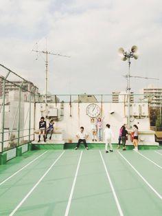elementary school rooftop, #tokyo. | 東京少女の日常物語。 | VSCO Grid