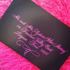 Calligraphy | Calligraphy by Jennifer