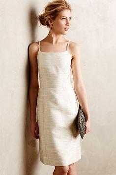 Lustra Dress #anthropologie Elegant. Modern yet classic. Tastefully done.