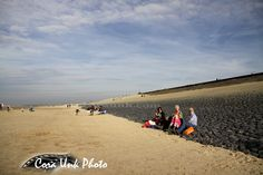 Shipwreck of Belgium cutter Zeldenrust Z75 , Rampage Tourism 3, enjoying the autumn sun, Petten beach