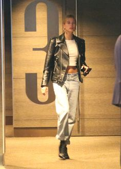 Girl Fashion, Womens Fashion, Hailey Baldwin, Movie Theater, West Hollywood, Style Me, Punk, Street Style, Model