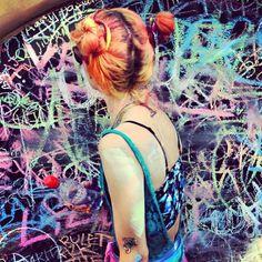 Chalk by @William Galindo #coachella - @chloenorgaard- #webstagram