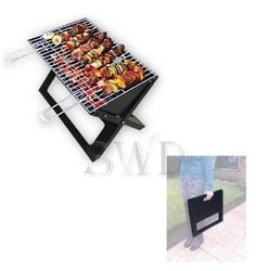 Get Large Portable Folding Barbecue Bbq Cooker Grill Camping Fire Pit Collapsable At Garden Incinerators Pits
