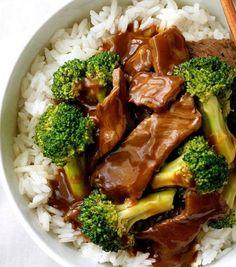 Recette : Bœuf à la chinoise au brocoli.