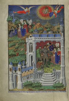 The legend of the Fleur-de-lis: London, British Library, MS Additional 18850, f. 288v.