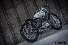 Royal Enfield Tracker by K-Speed - Photo by Overidephoto #motorcycles #streettracker #motos   caferacerpasion.com