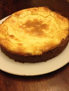 The Cheesecake Recipe from Wheat Belly. Wheat free, low carb, 7 grams of protein and DELISH!!!