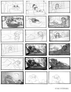 Lilo and Stitch storyboards