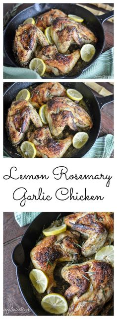 One Pan Chicken Recipe with Tons of Flavor!