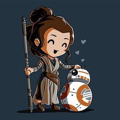BBFFs t-shirt Star Wars TeeTurtle