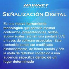 Refrescamos para ti el concepto de Señalización Digital los ejemplos los puedes apreciar en www.imvinet.com ;) Esto es #EVOLUCIÓN #DigitalSignage #SeñalizaciónDigital #Marketing #Retail #Publicidad #Mercadeo #RRPP #ComunicacionesCorporativas #Negocios