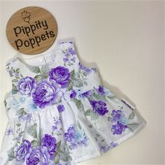 Beautiful handmade cotton Girls Tea Party Peplum Top. Available in varying sizes on madeit.com.au