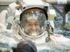 Astronaut Koichi Wakata Trains for Station Spacewalk