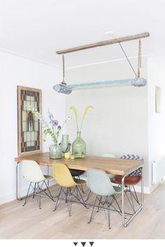 Industrial lamp dinning room