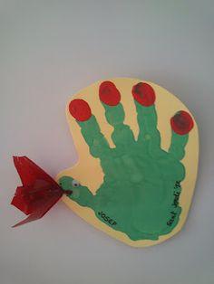 Drac de Sant Jordi amb la mà #stjordi pintura dits