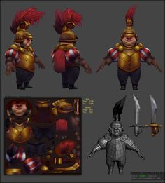 Siege. Commander by EiGHT (http://www.polycount.com/forum/showthread.php?t=115822)